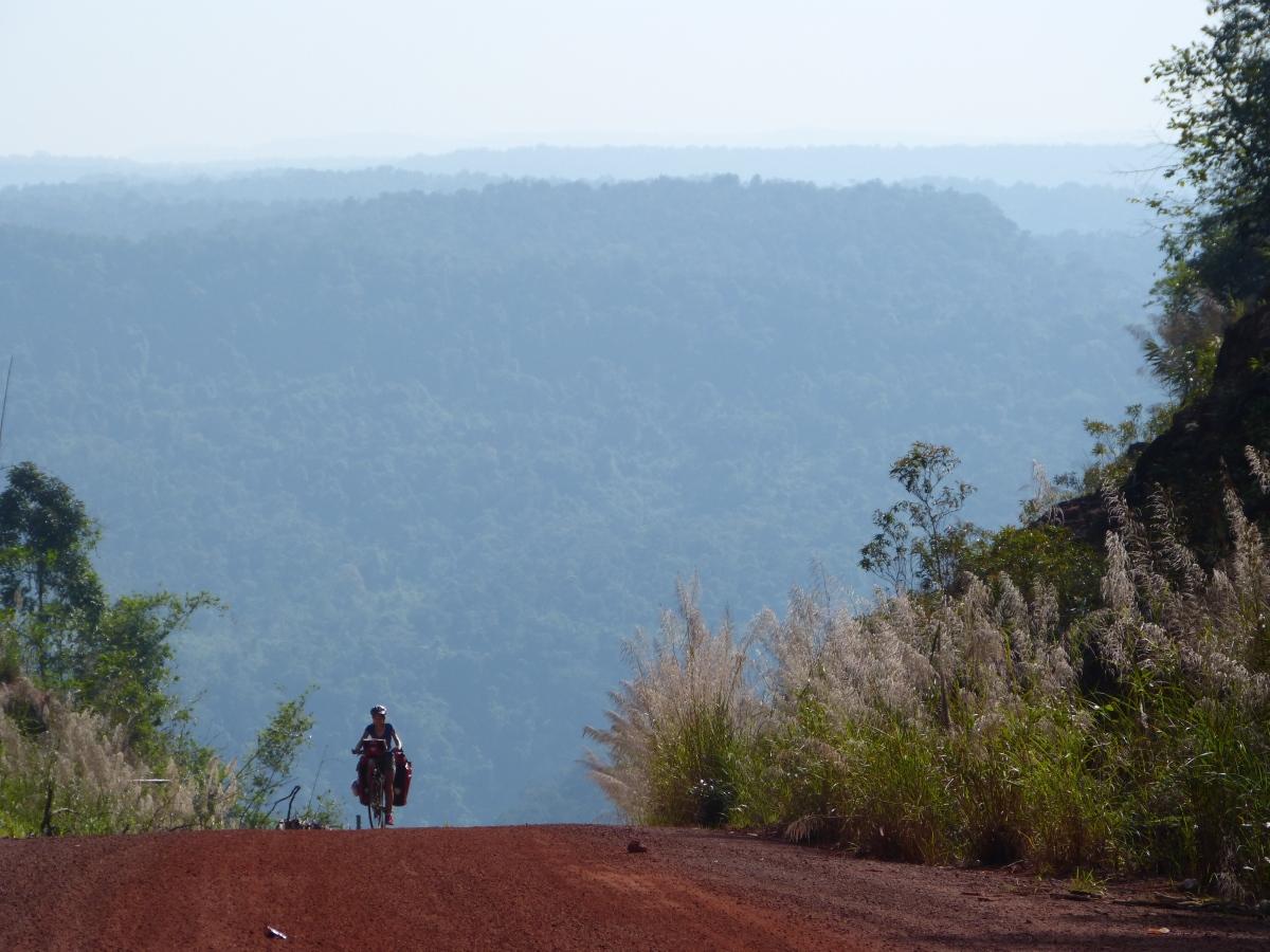 Dans les montagnes duCambodge